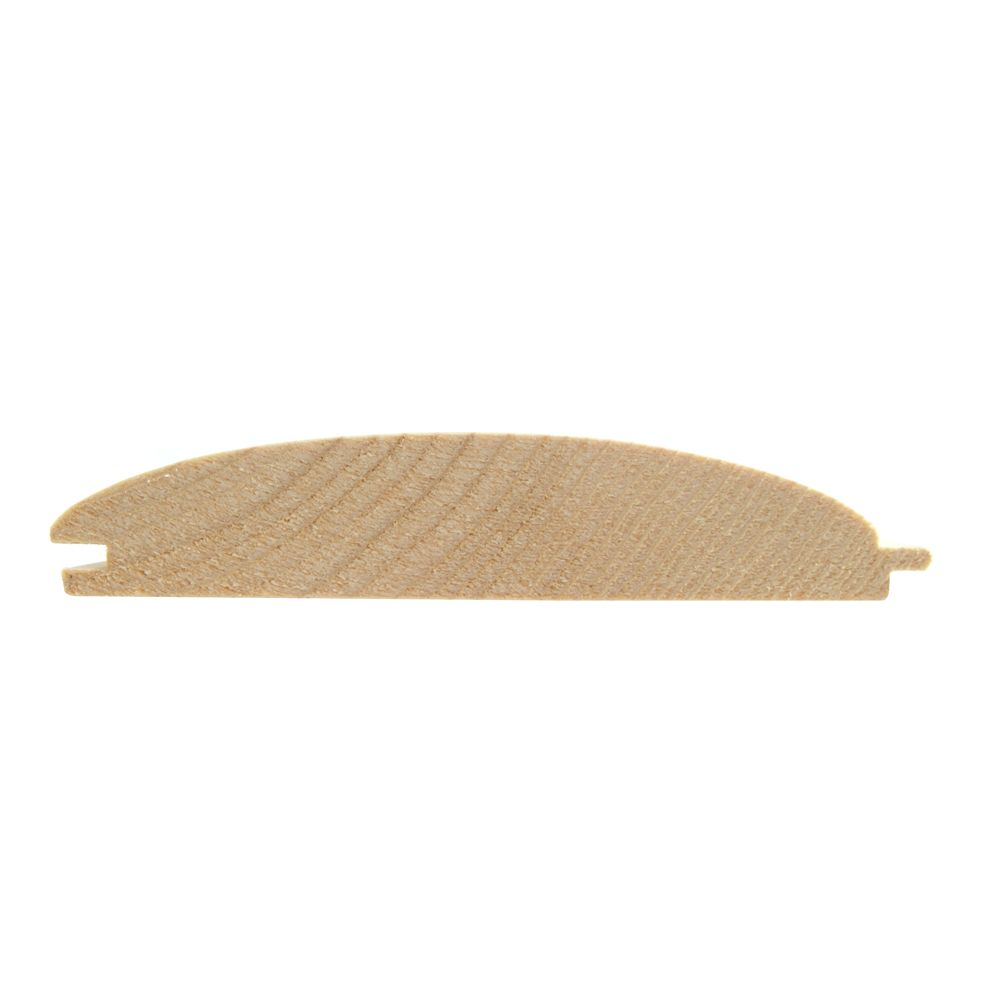 Przekrój deski elewacyjnej profil półbal świerkowa